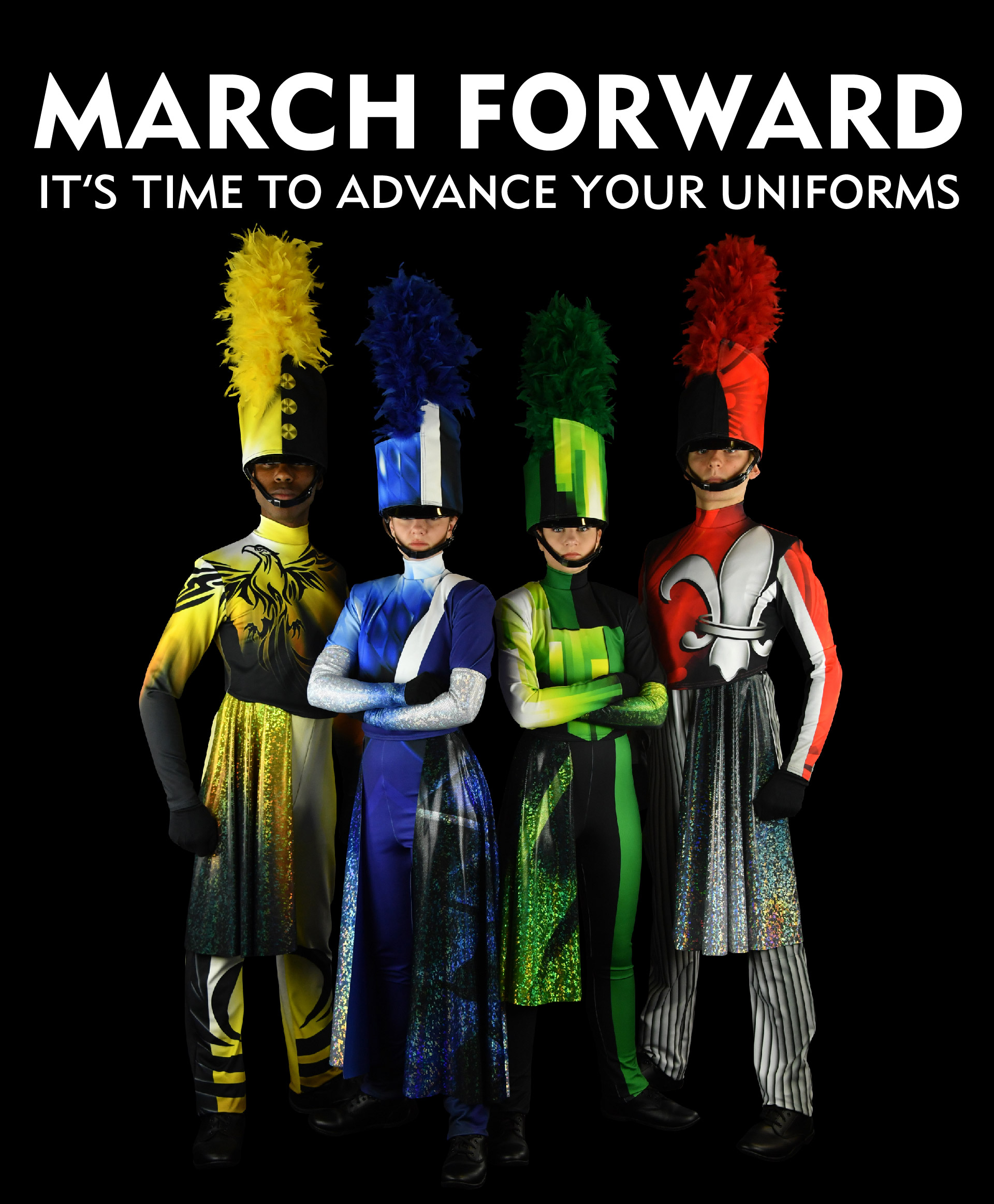 McCormick's Marching Uniform: March Forward, It's time to advance your uniforms.